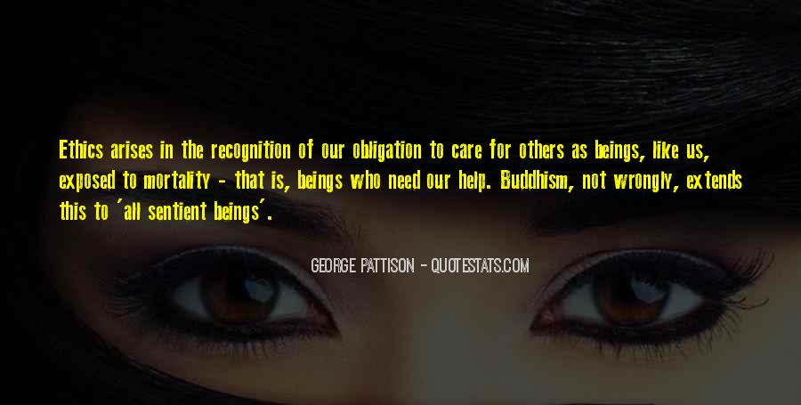 Obligation To Help Others Quotes #1691176