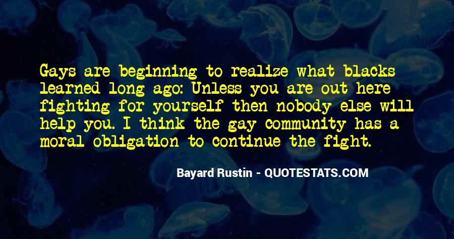 Obligation To Help Others Quotes #756570