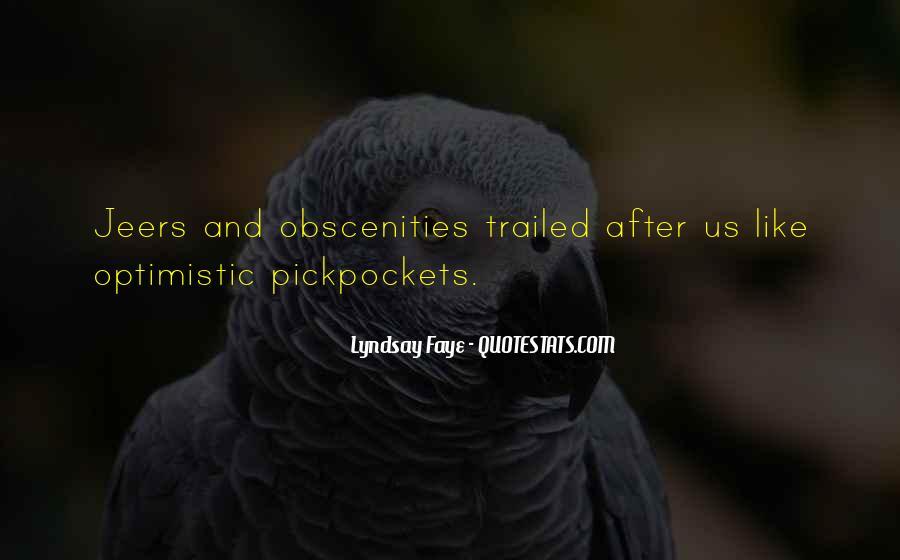 Obscenities Quotes #1061199