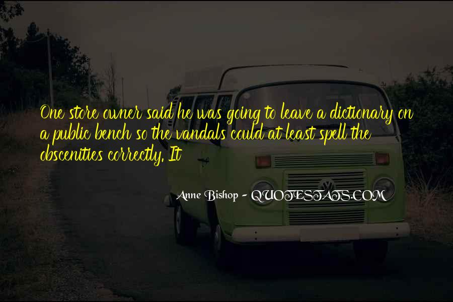 Obscenities Quotes #1357197