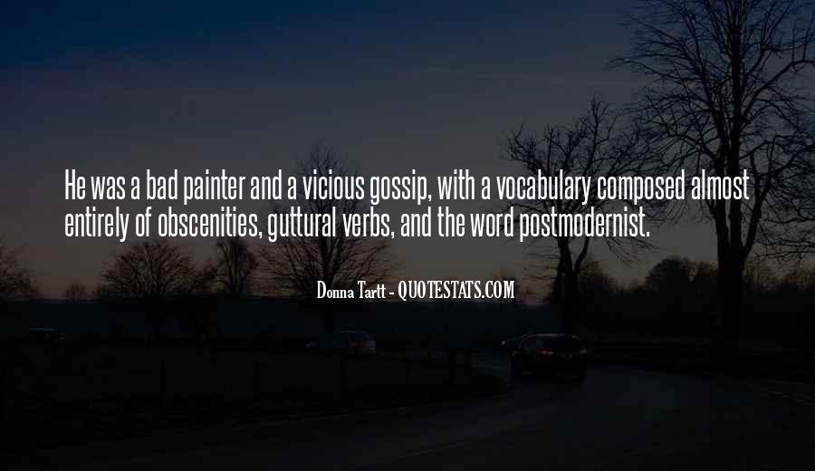 Obscenities Quotes #225624