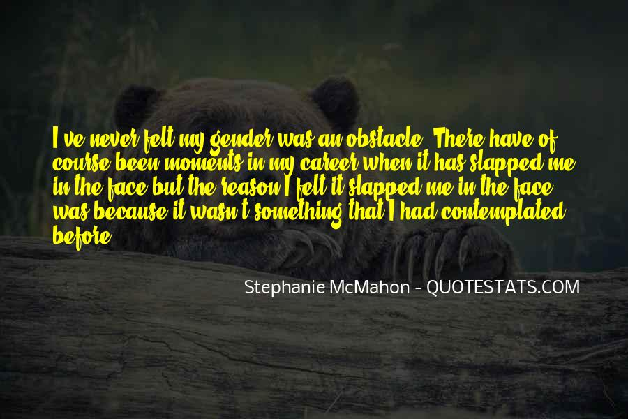 Obstacle Course Quotes #1562883