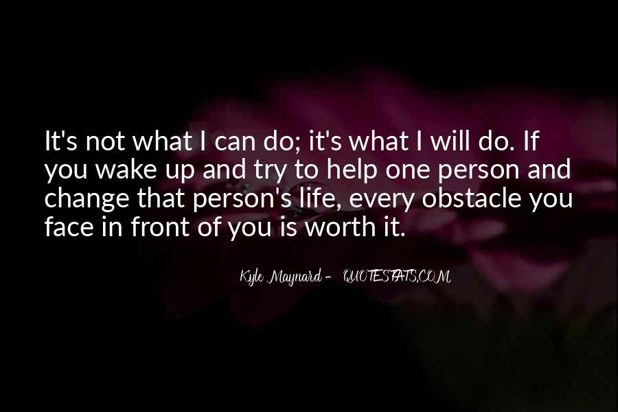Obstacle Course Quotes #211036