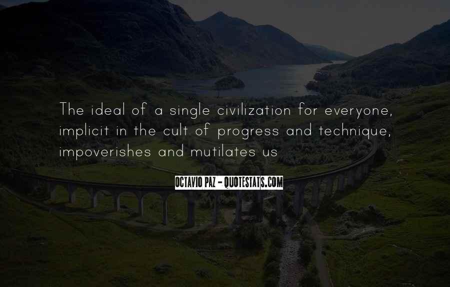 Octavio Paz Culture Quotes #1373091