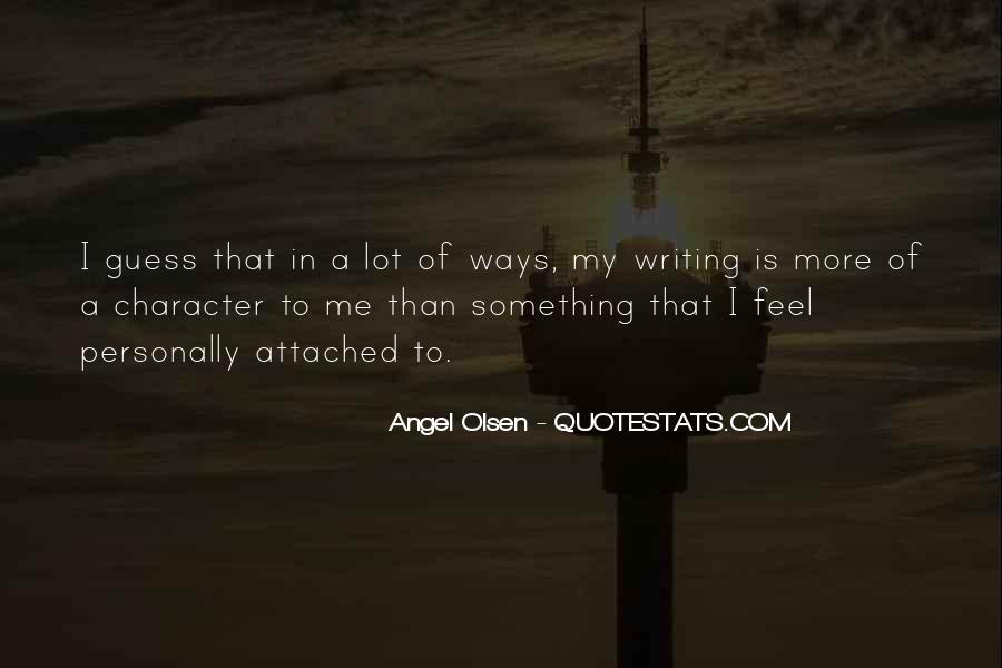 Of Me Quotes #2977