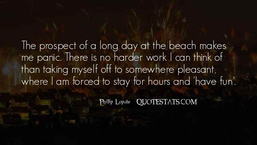 Off To The Beach Quotes #1012852