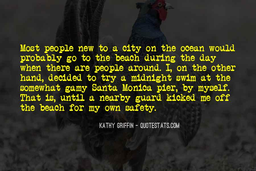 Off To The Beach Quotes #1033755