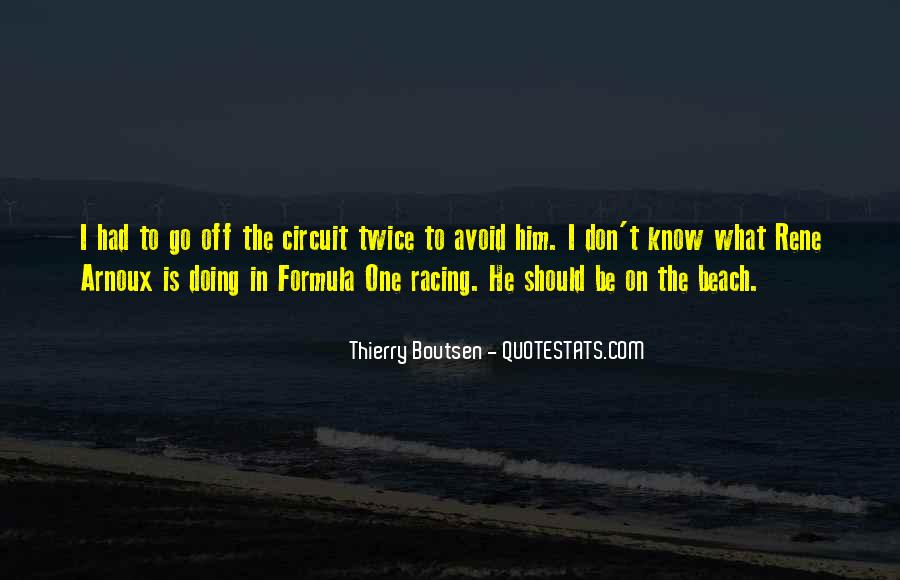 Off To The Beach Quotes #1416515