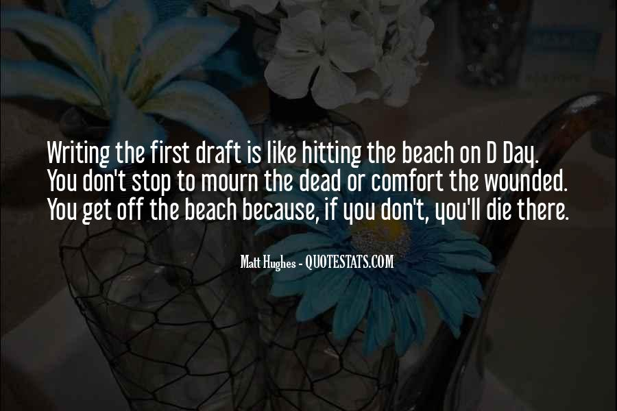 Off To The Beach Quotes #1613714