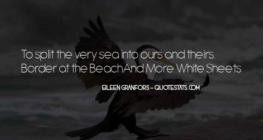 Off To The Beach Quotes #29214