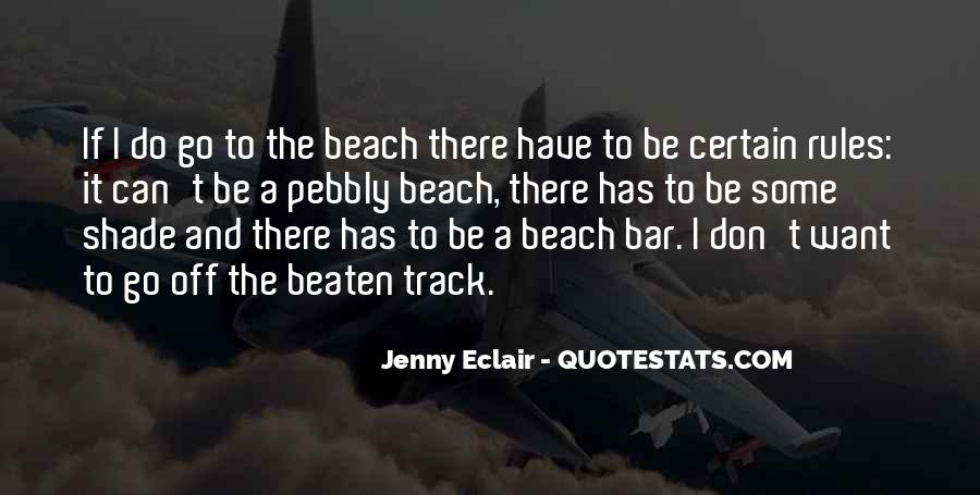 Off To The Beach Quotes #358178
