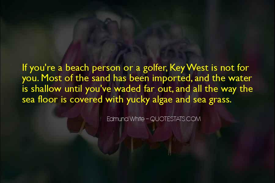 Off To The Beach Quotes #53715