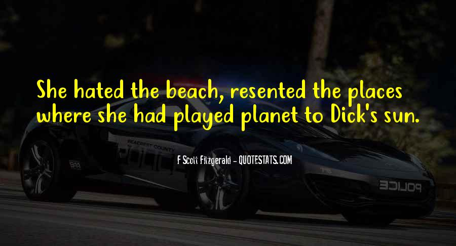 Off To The Beach Quotes #63875