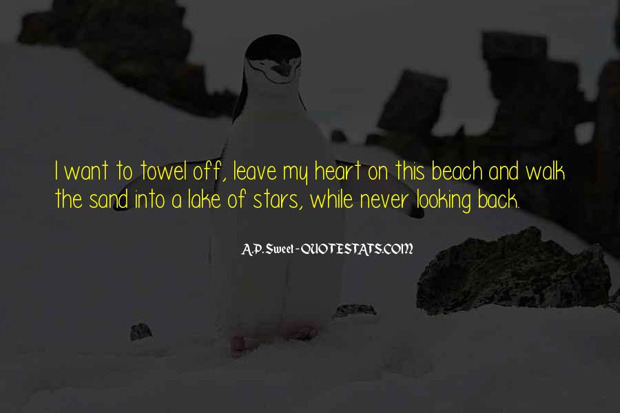 Off To The Beach Quotes #74281