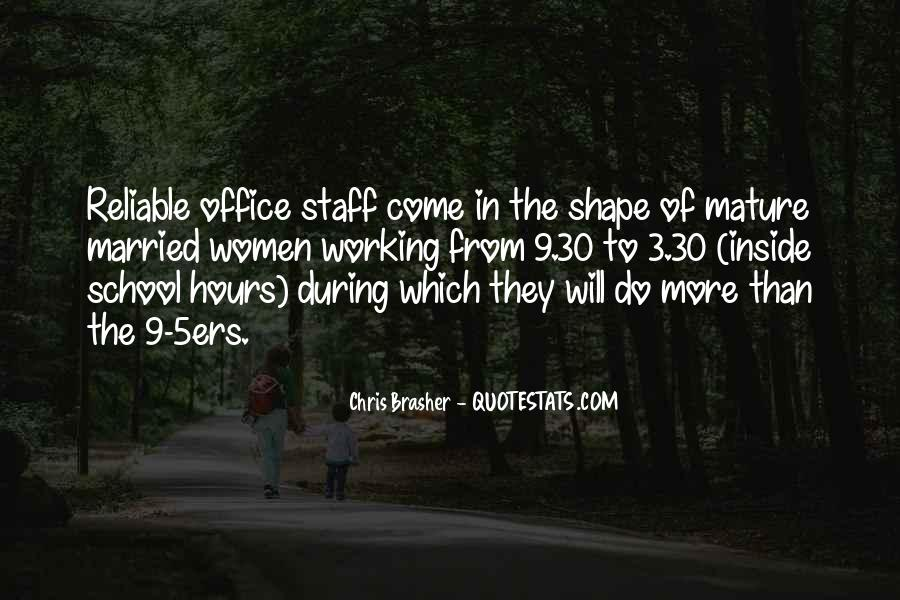 Office Staff Quotes #1217970