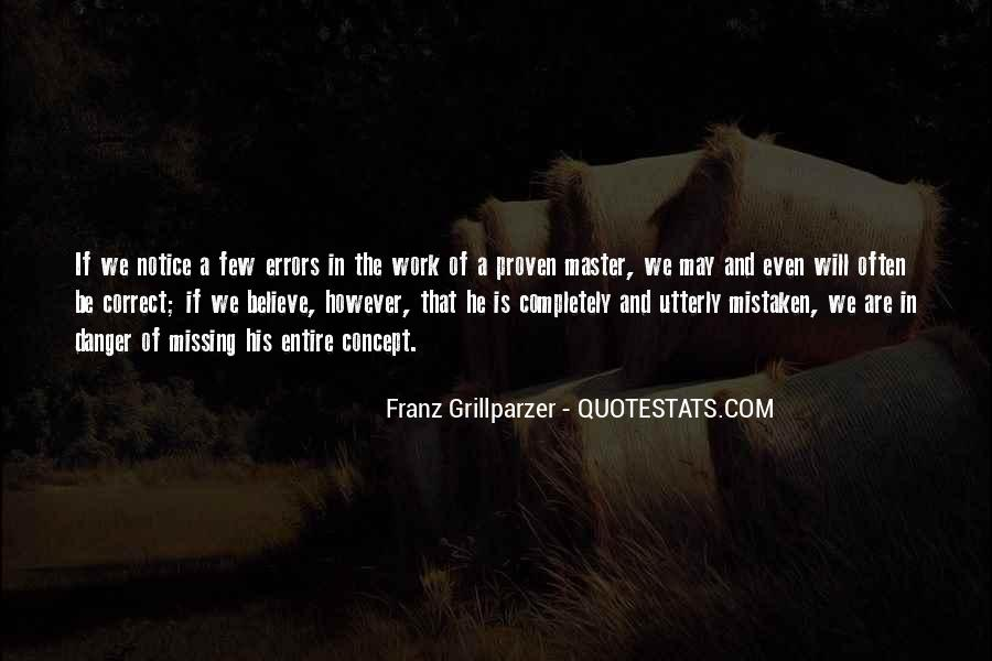 Often Mistaken Quotes #1080229