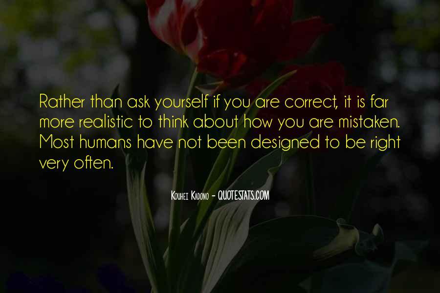 Often Mistaken Quotes #1545686