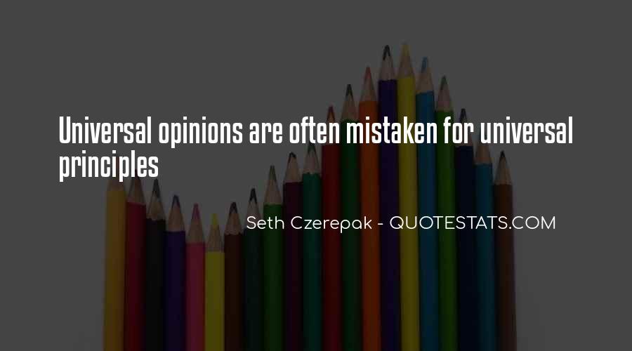 Often Mistaken Quotes #1794525
