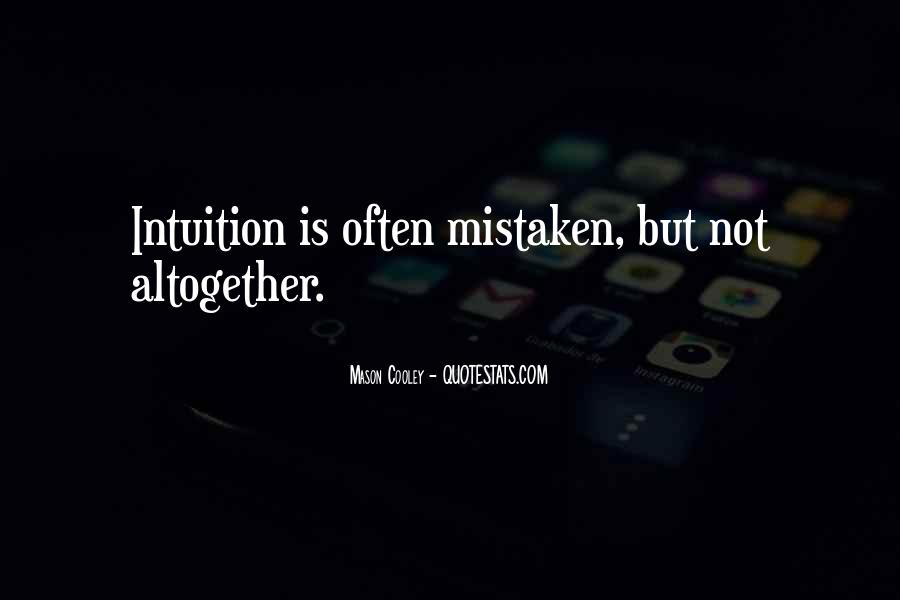 Often Mistaken Quotes #382019