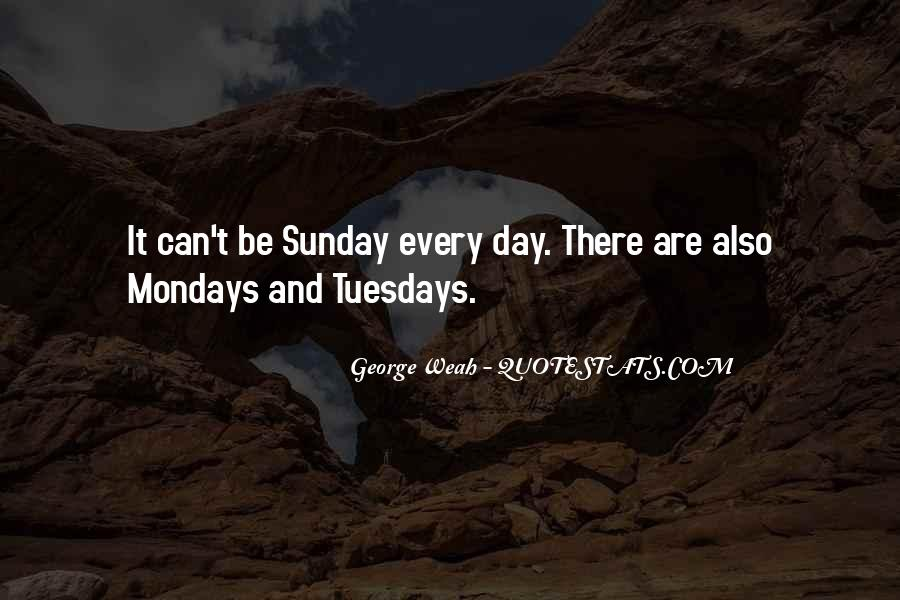 Oh No It's Monday Quotes #42809