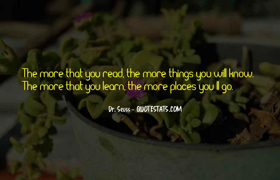 Oh The Places You'll Go Quotes #168538