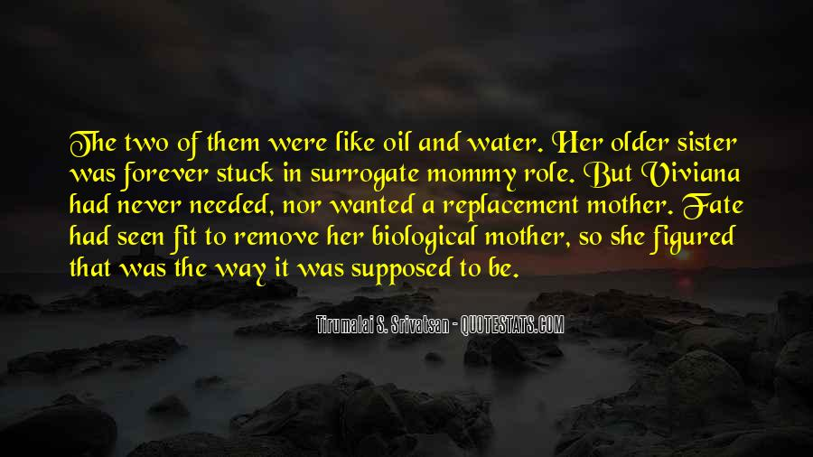 Oil And Water Love Quotes #1485970