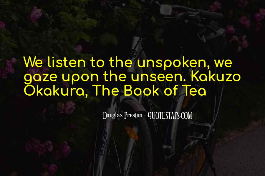 Okakura Kakuzo Tea Quotes #864165