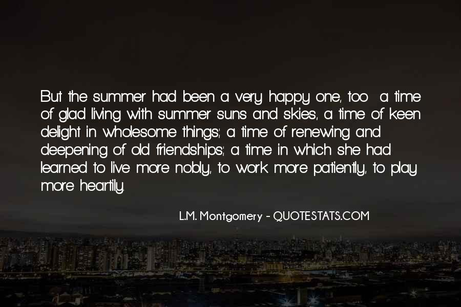 Old But Happy Quotes #1352577
