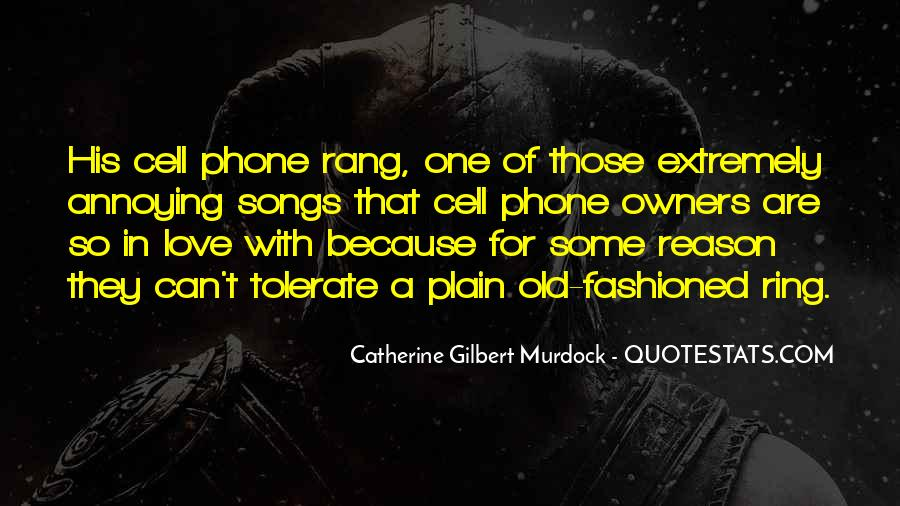 Old Cell Phone Quotes #682837