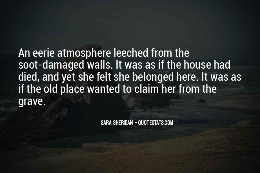 Old Dark House Quotes #897753