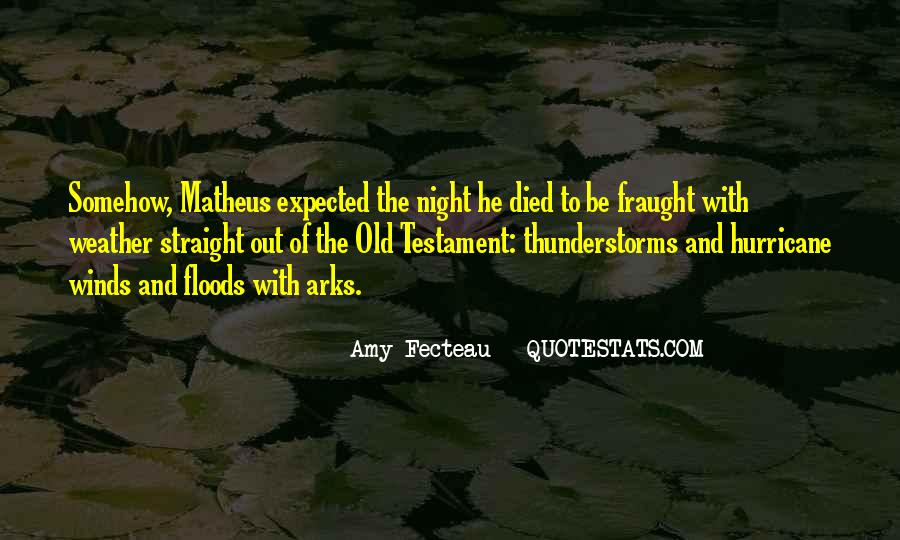 Old Floods Quotes #1121442