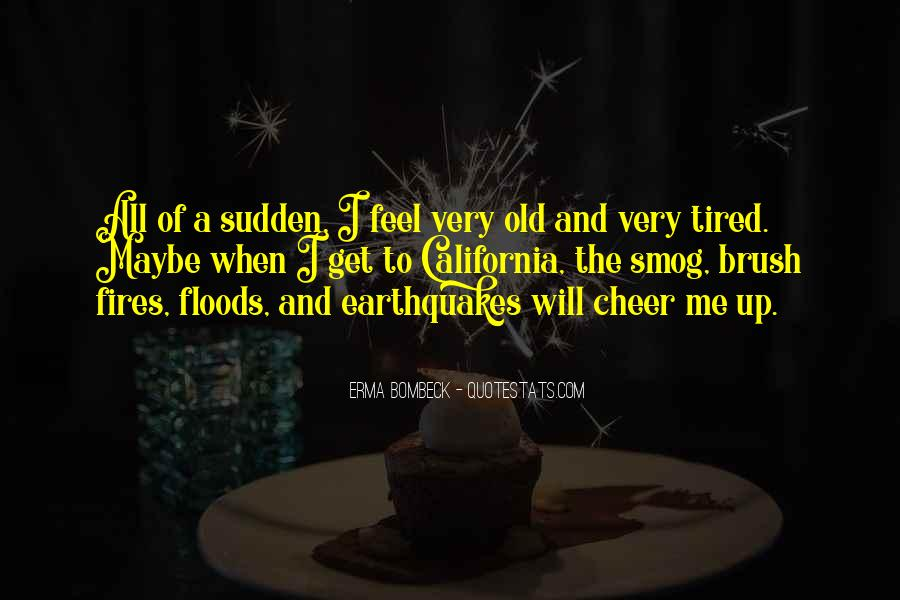 Old Floods Quotes #1420420