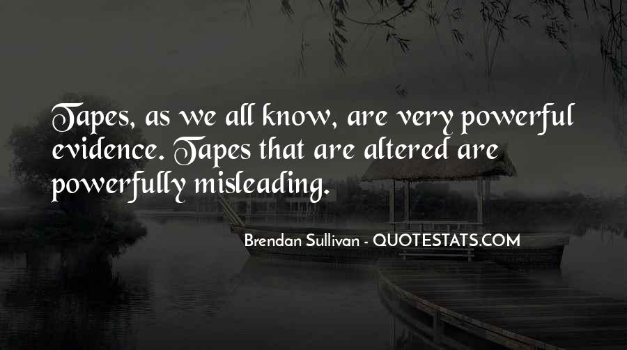 Quotes About Brendan #110893
