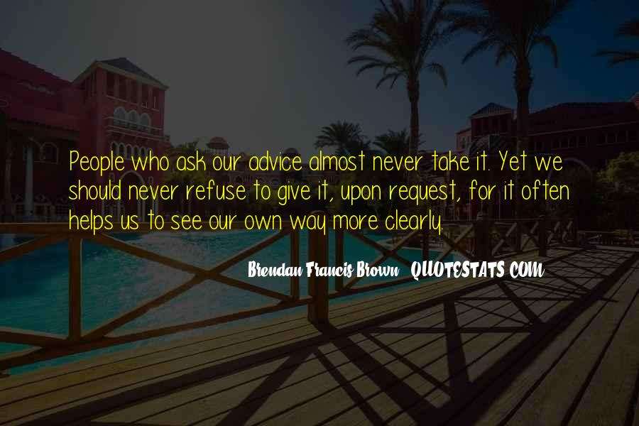 Quotes About Brendan #126992
