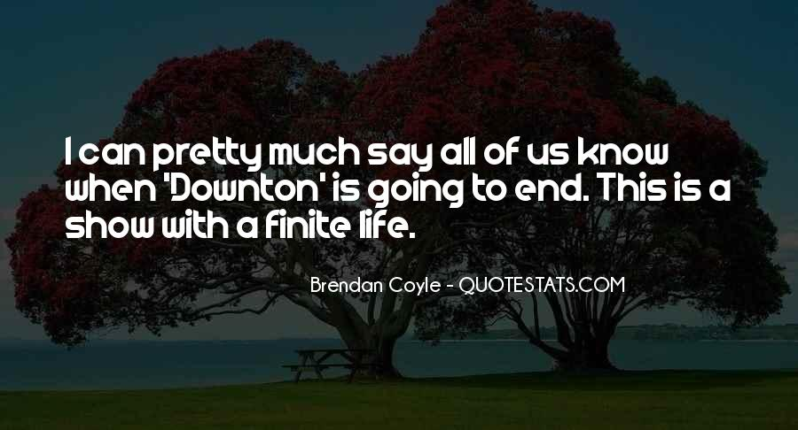Quotes About Brendan #168305