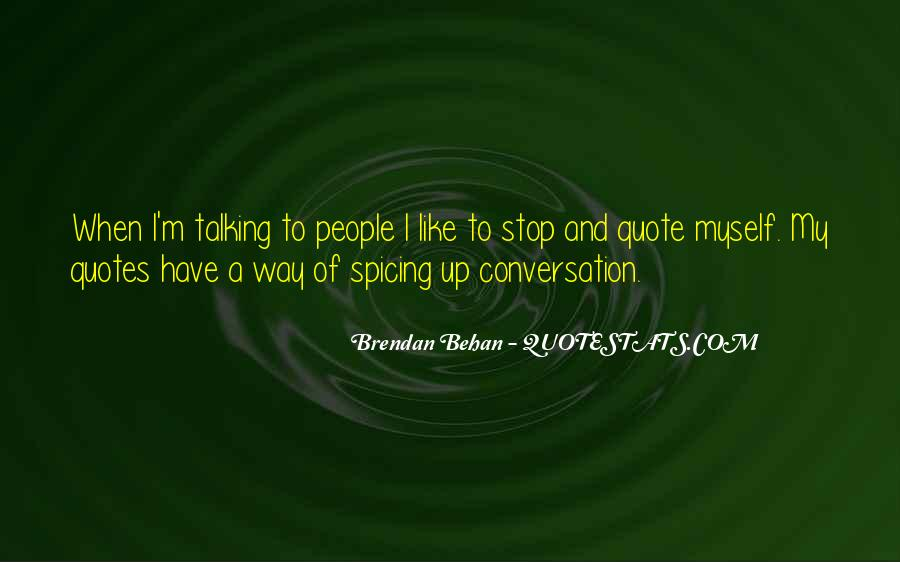 Quotes About Brendan #173394