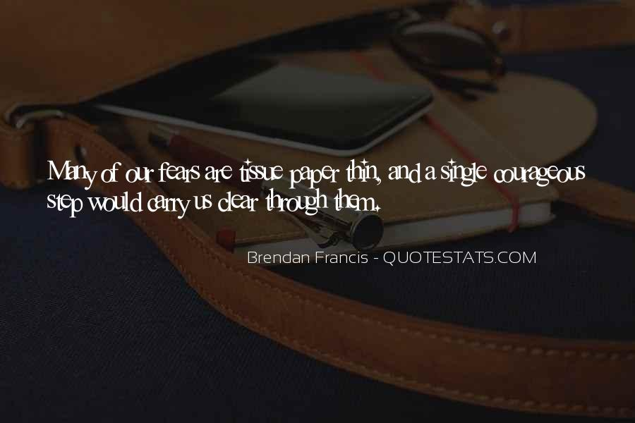 Quotes About Brendan #214019