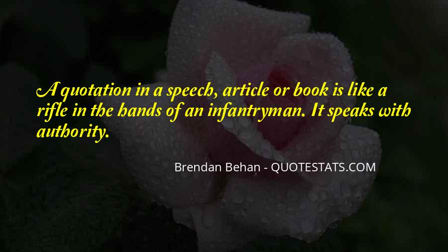 Quotes About Brendan #2794