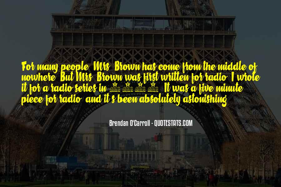 Quotes About Brendan #340230