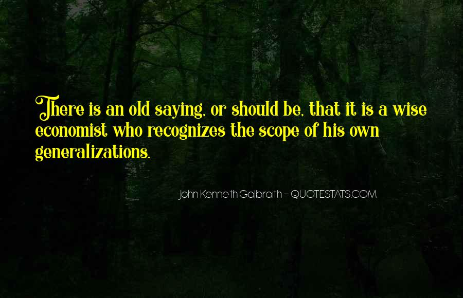 Old Is Wise Quotes #596214