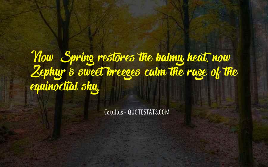 Quotes About Breezes #1207498