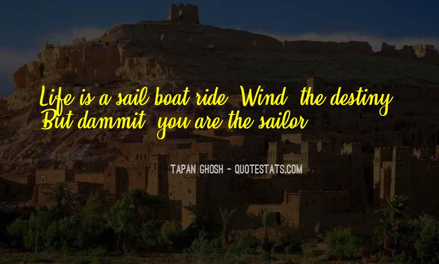 Old Man Sailor Quotes #241571