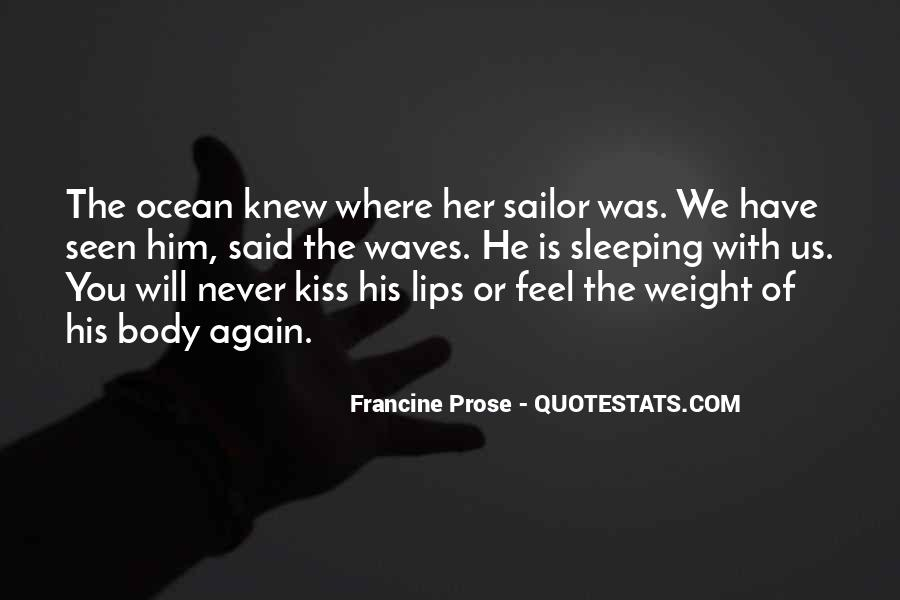 Old Man Sailor Quotes #435904