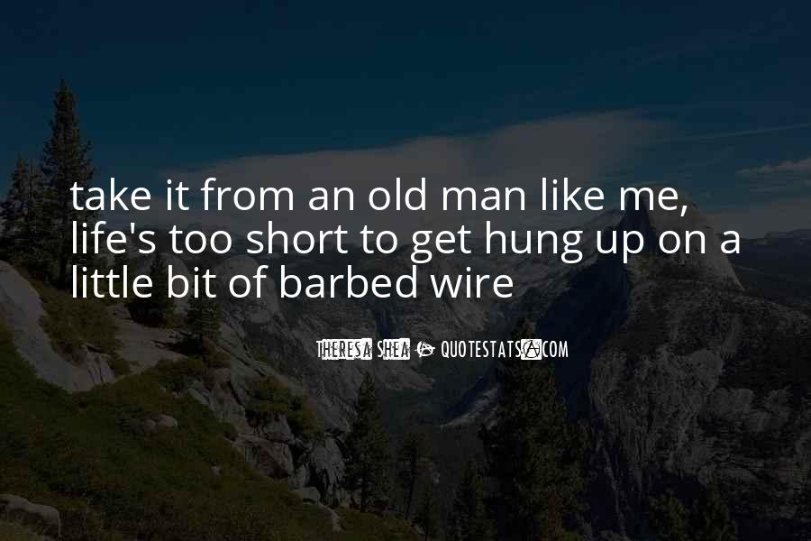 Old Man's Quotes #143369