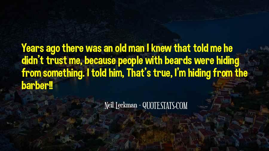Old Man's Quotes #147874