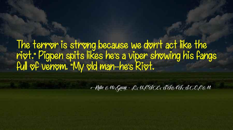 Old Man's Quotes #198166