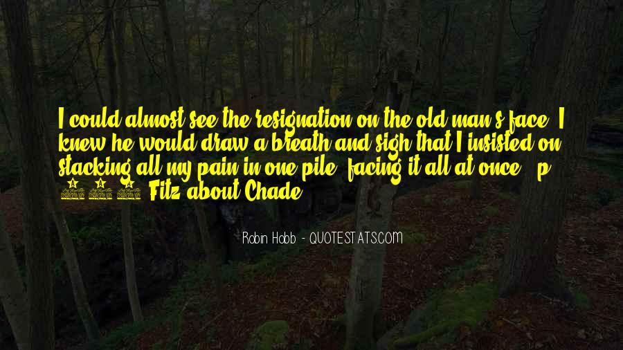 Old Man's Quotes #256008