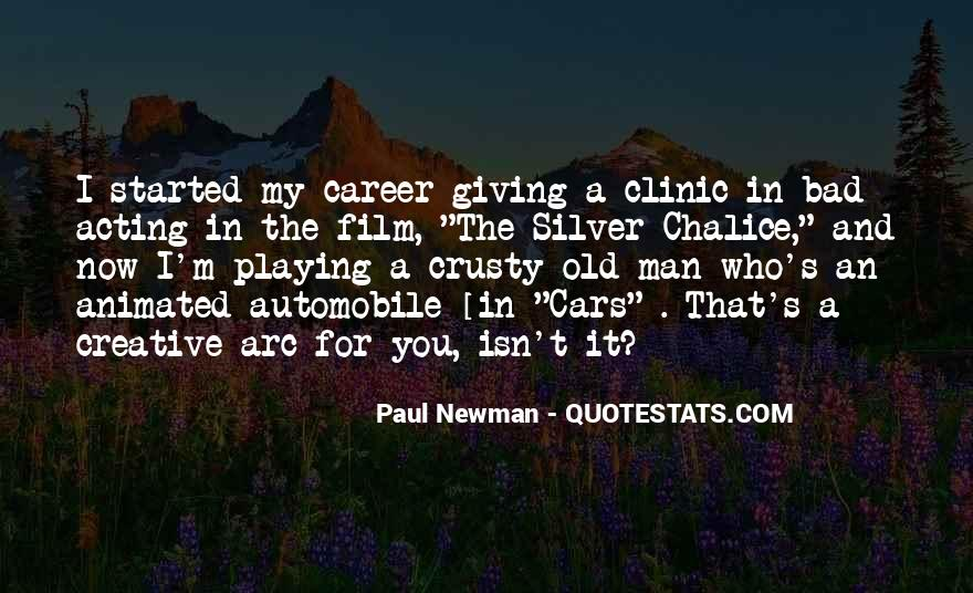Old Man's Quotes #270197