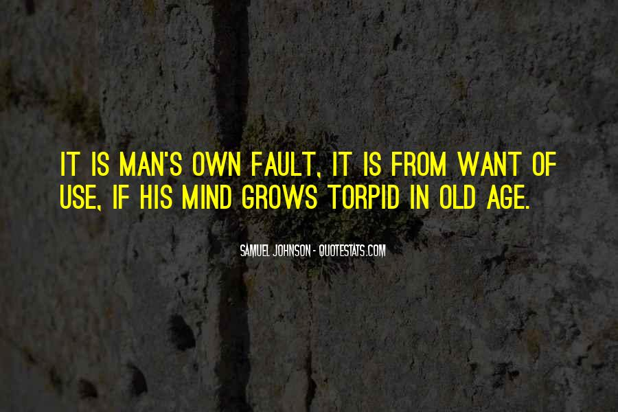 Old Man's Quotes #287234