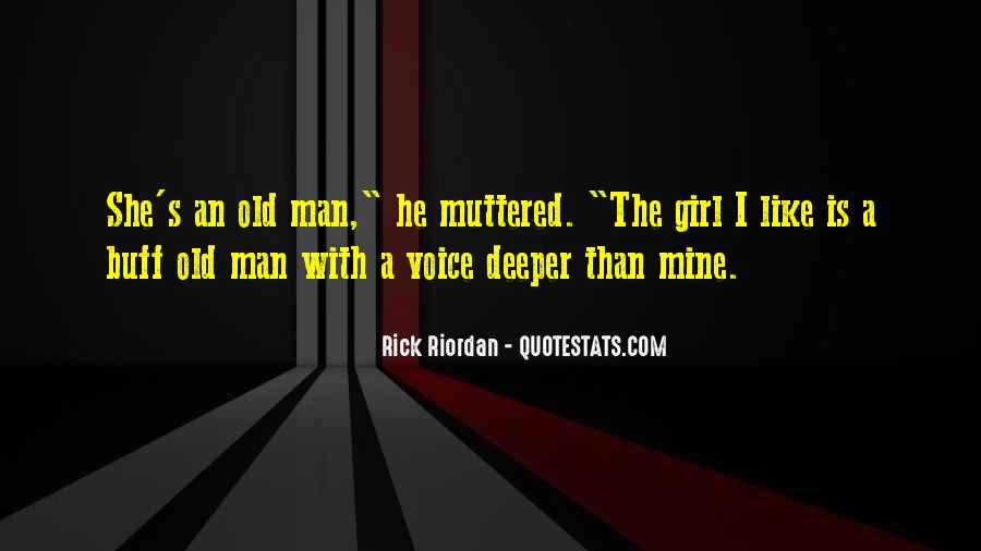 Old Man's Quotes #296218